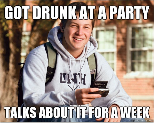 The 16 Funniest Examples of The College Freshman Meme