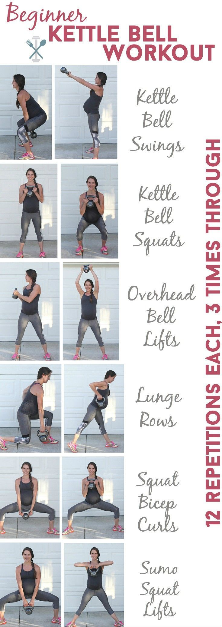 This is the BEST kettle bell workout for beginners and even seasoned vets! These effective compound movements will make you fall in love with kettle bell training. Step by step instructions and photos.