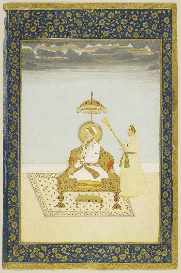 Shah Alam Bahadur Shah in Old Age