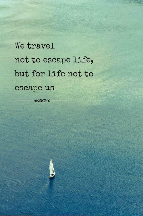 yes! don't hold off travel. do it for you. do it so you learn that there is much more to life than average.