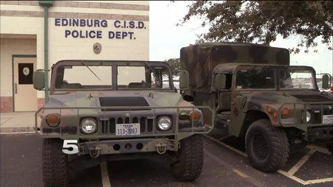 Edinburg CISD (Texas)  Defends Acquisition of Military Equipment | KRGV.com | CHANNEL 5 NEWS | Breaking News Breaking Stories