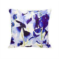 Bluebellgray® Blue Iris Pillow