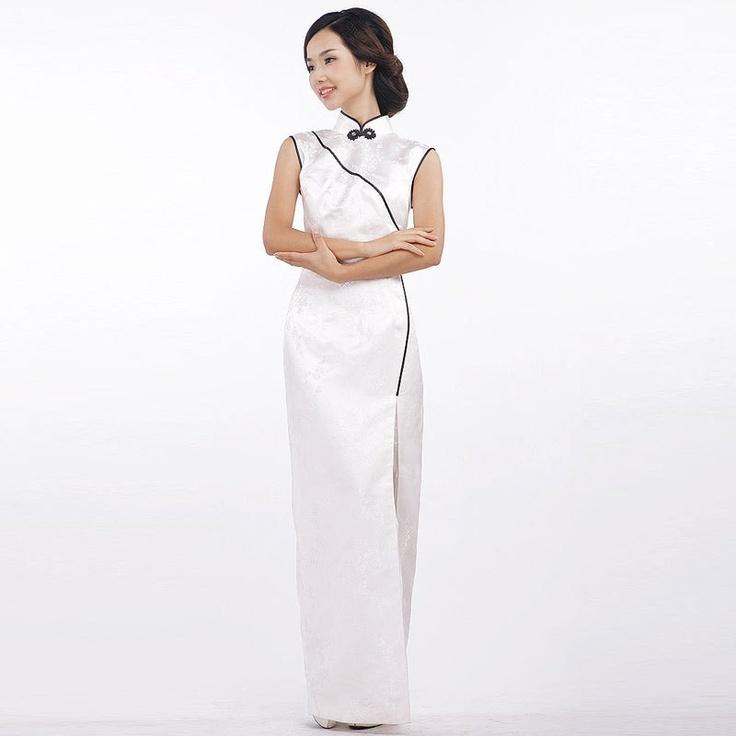 14 best Long Qipao images on Pinterest Ao dai, Cheongsam dress - küchen hängeschränke günstig
