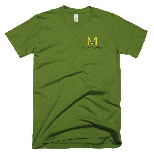 Melanated Rich No. 6 Collection-Short Sleeve Men's T-Shirt