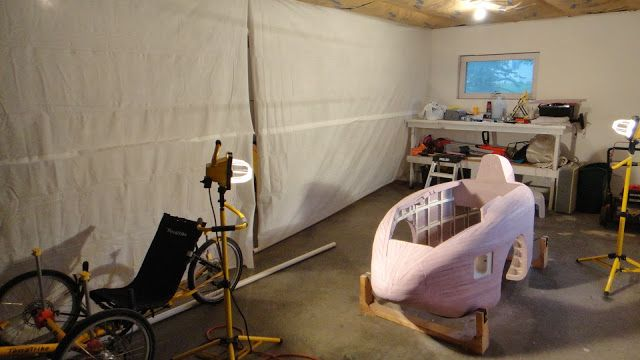 The Tinkers Workshop: Warmer Garage Work Space At The Tinker's Workshop