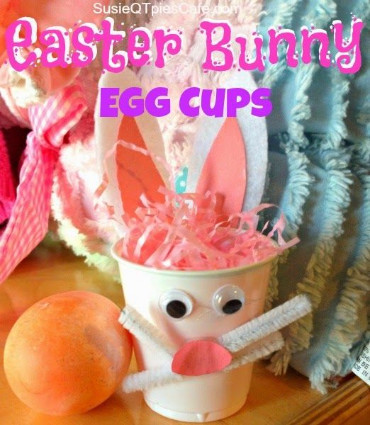 DIY Easter Bunny Treat Cups - fun to do with other animals