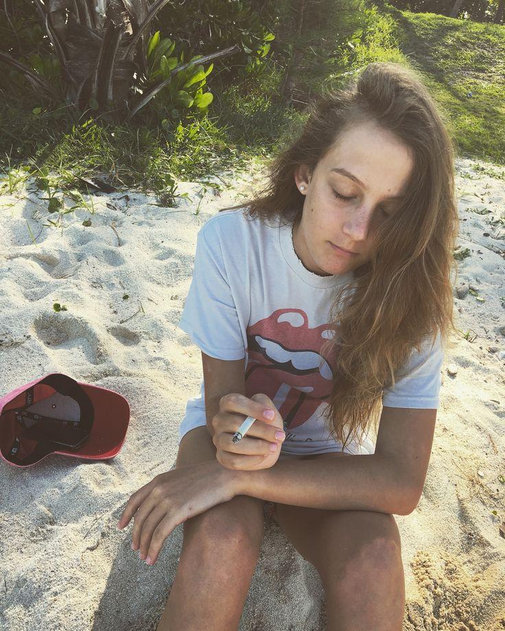 Smoking teen 🤙