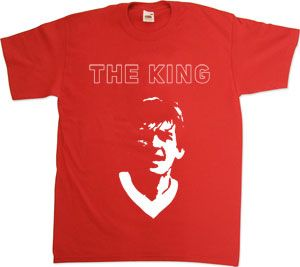 Kenny Dalglish - The King T-Shirt £14.99 - www.lfconlineshop...