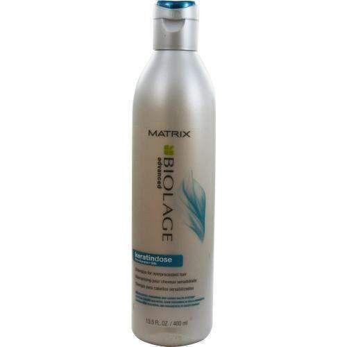 Keratindose Pro-keratin + Silk Shampoo For Over Processed Hair 13.5 Oz