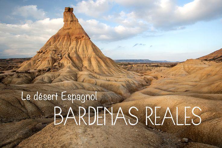 Une merveille en Espagne, des plus dépaysantes et des plus désertiques : les Bardenas Reales, situées en Navarre dans le nord du pays.