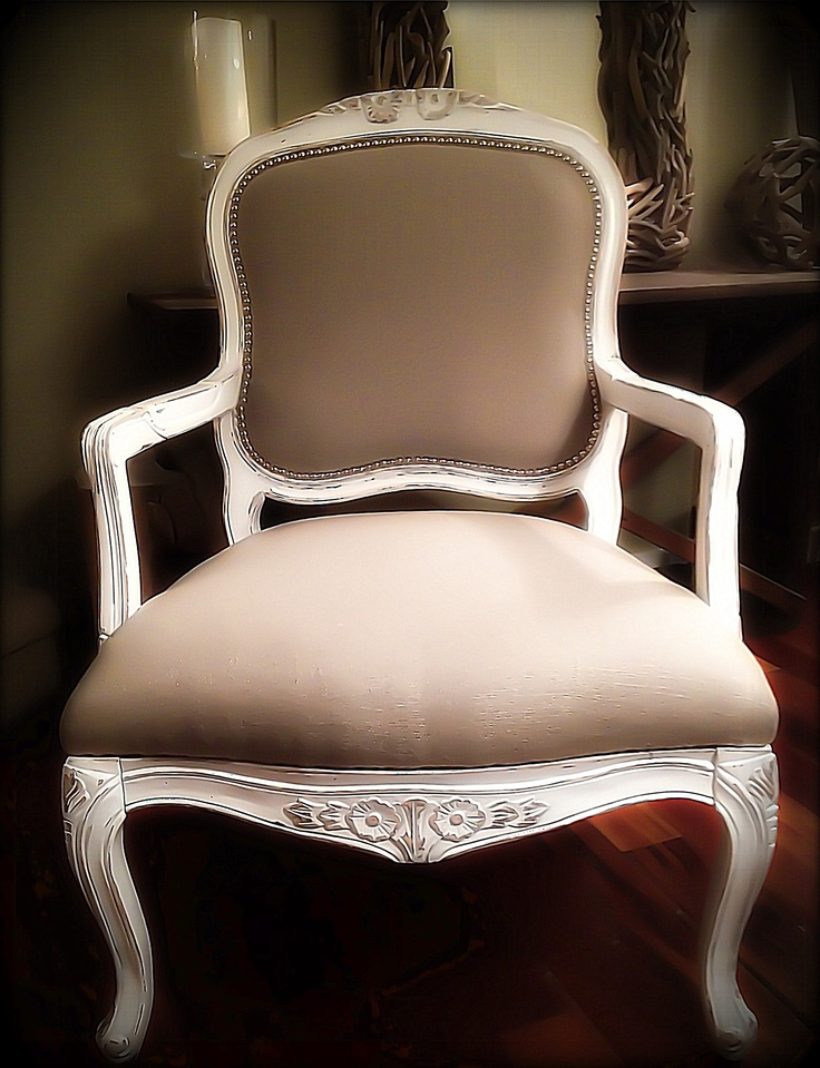 Belgium linen chair