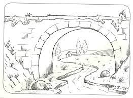 Image result for paisajes sencillos para dibujar