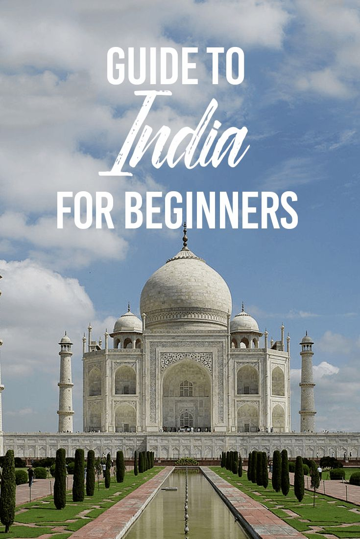 If you're travelling for the first time, Here's a guide to India. The Golden Triangle consists of three metropolitans: New Delhi, Agra and Rajasthan.