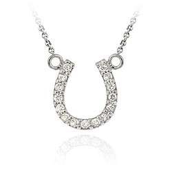 @Overstock - Add a sparkling touch to your wardrobe with this inspiring horseshoe necklace  This jewelry is crafted of sterling silver  The horseshoe-shaped pendant is lined with clear cubic zirconiahttp://www.overstock.com/Jewelry-Watches/Icz-Stonez-Sterling-Silver-Cubic-Zirconia-Horseshoe-Necklace/4662779/product.html?CID=214117 $19.99