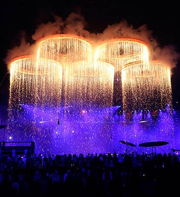 Lords of the rings..Olympics 2012 Opening Ceremony