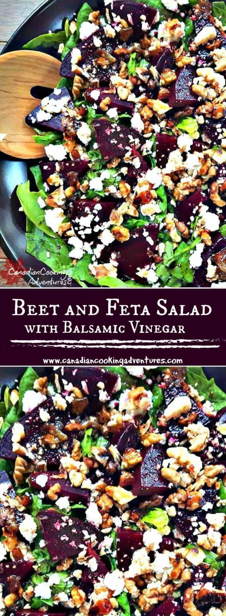 Rüben-Feta-Salat   – Food