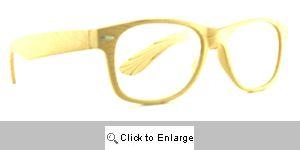 Wood Grain Reading Glasses - 287 Light Brown