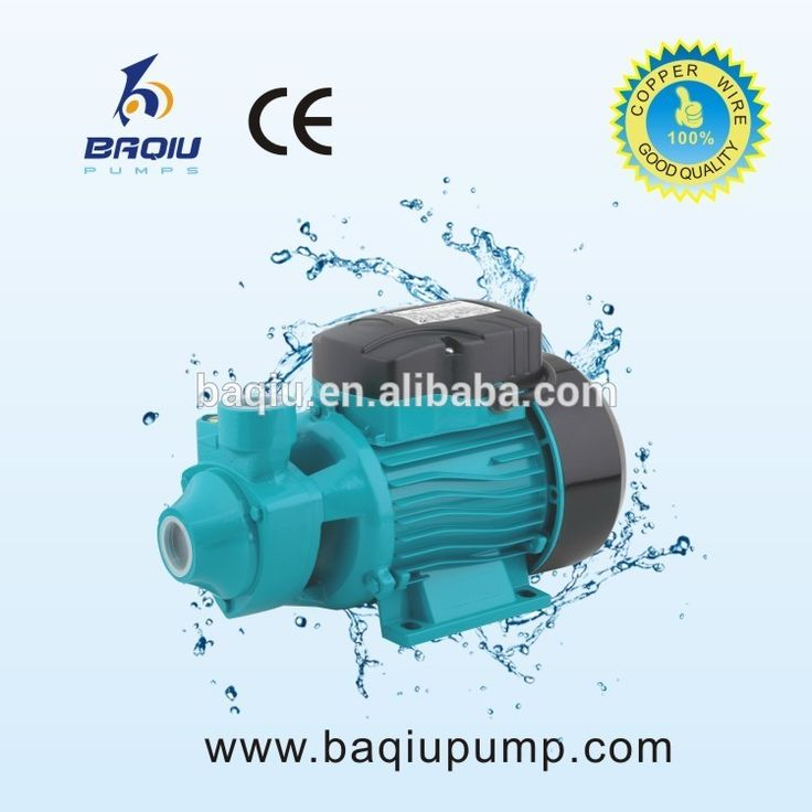 QB60-E Secure Aquarium Pump Manufacturers Peripheral Pump Svortex Pump With Open Impeller