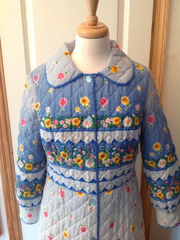 edec4d11 Nydelig vintage kåpe | Vintage clothes | Produkter, Mønster