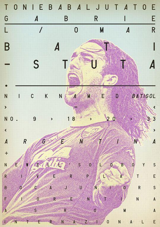 Ποδοσφαιρικοί θρύλοι σε vintage posters