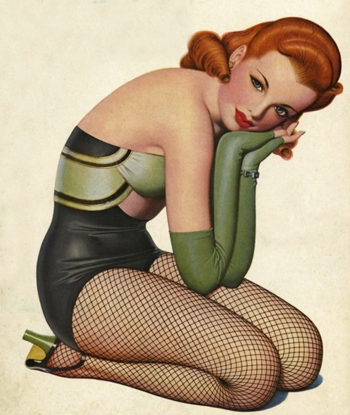 red hairEnoch Bolles, Red Hair, Pinupart, Vintage Pinup, Pin Up Art, Pinup Girls, Pinup Art, Covers Art, Pin Up Girls