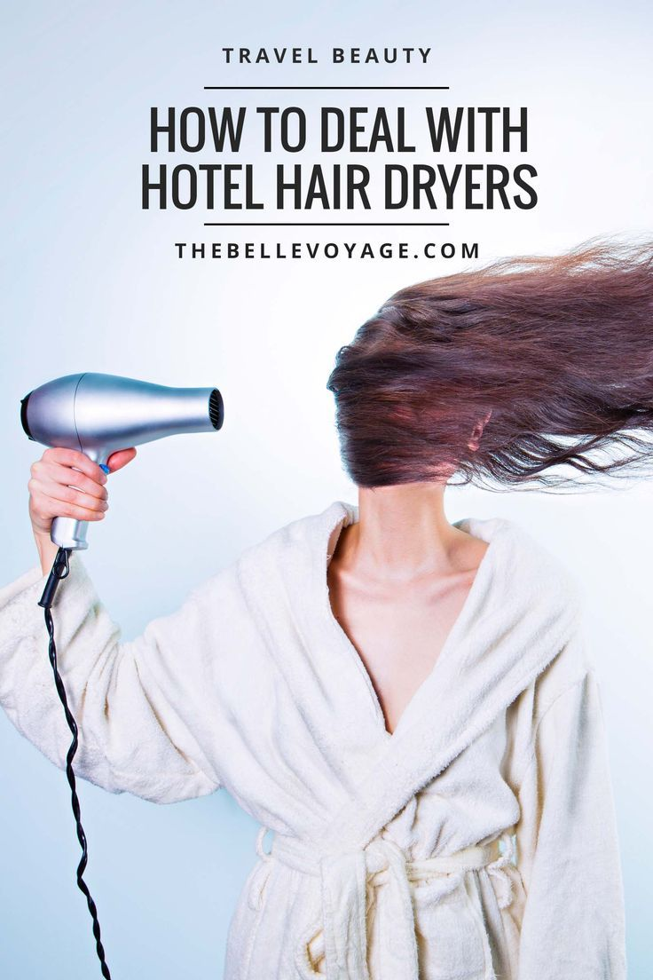 My Hairdryer Blows: Dealing With Hotel Hair Dryers | The Belle Voyage.  Travel hairstyles, easy travel hairstyles and ideas, travel hair tips, travel hair dryer, travel hair products.