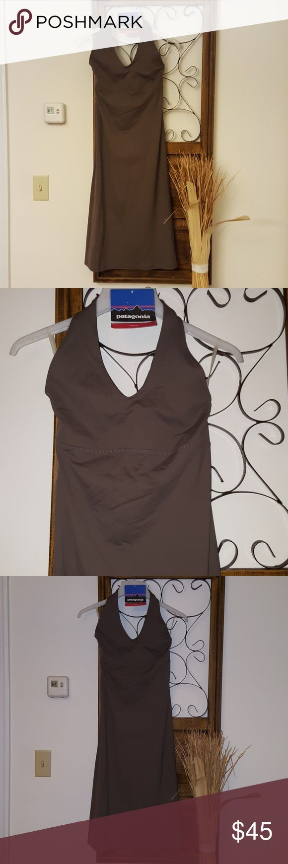 Patagonia dress NWT Perfect little dress, W's Morning Glory dress, size medium, slim fit. Bundle and save. NWT, taupe, gray shade. Patagonia Dresses