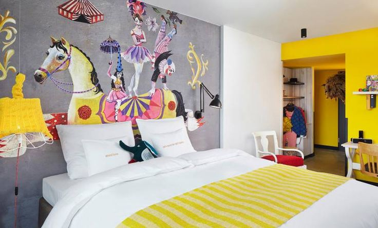 25hours Hotel Vienna at Museumsquartier L-Room