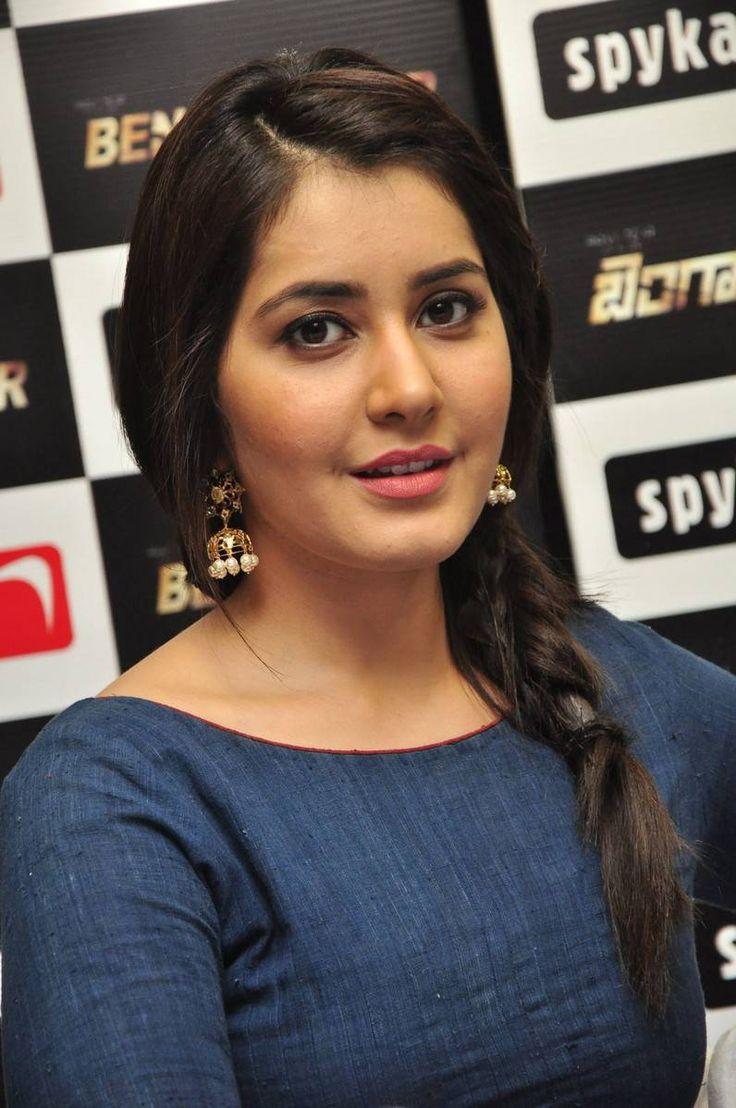 Rashi Khanna Latest Hot Stills In Blue Dress - Raashi Khanna