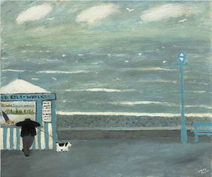 Gary Bunt - Jellied Eels: He's stopped to have his jellied eels All he does is talk I wish he'd hurry up and stop And take me for my walk