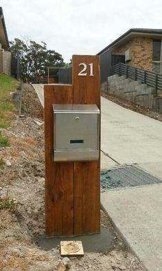 Ein toller selbstgebauter Briefkasten