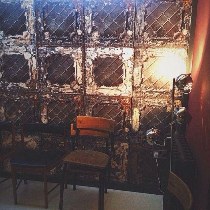 Our Lounge.  Wallpaper by Merci Paris