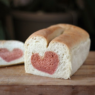 Bread with a Heart - for Valentine's Day