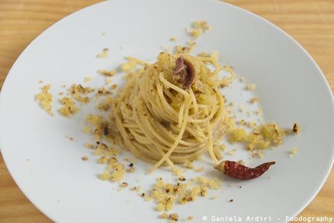 Pasta con la Mollica, il menu della domenica delle Palme di Zia Lucia - Monopoli- Puglia