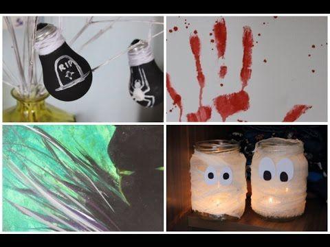 DIY Halloweeni Szobadekorációk | AvianaRahl