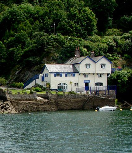 Author Daphne Du Maurier's former home,  Ferryside, Bodinnick, Cornwall, England