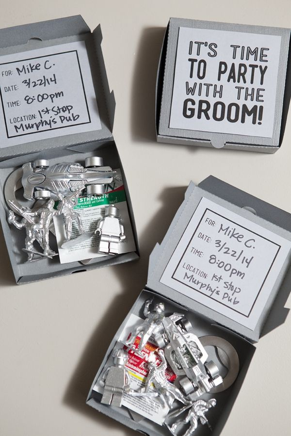DIY Wedding // How to make these fun and silly Bachelor Party Invites… with FREE downloads!