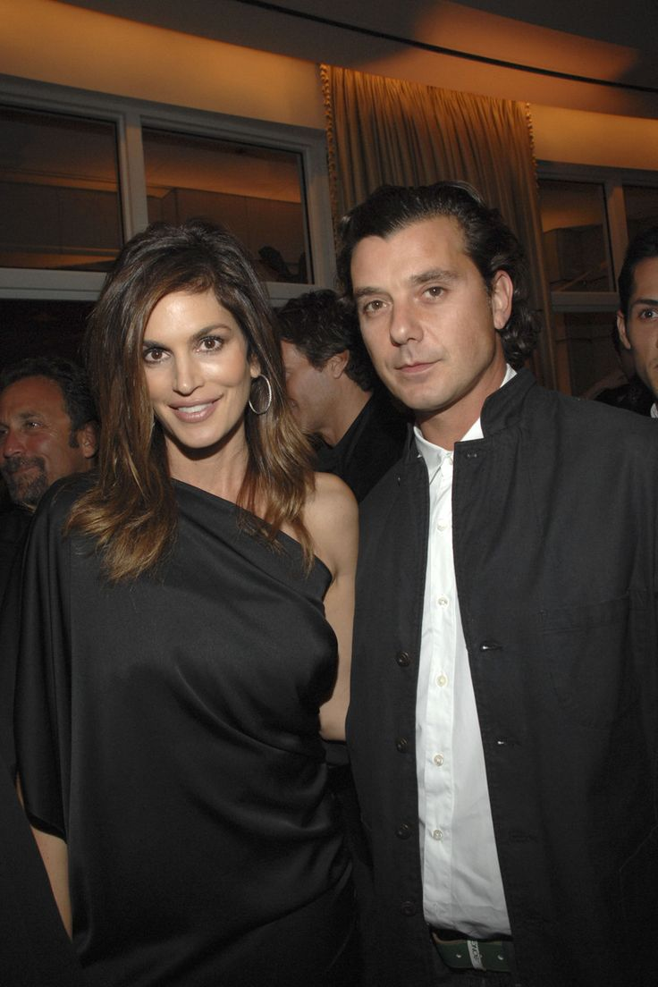 Cindy Crawford and Gavin Rossdale at the book lauch party for Room 23 at The Peninsula Hotel