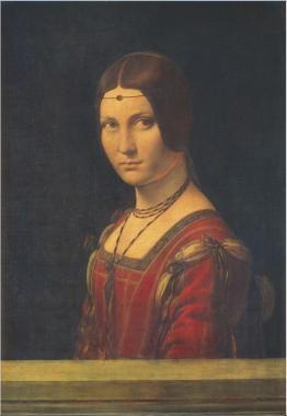 La Belle Ferronire by Leonardo Da Vinci (1452-1519)