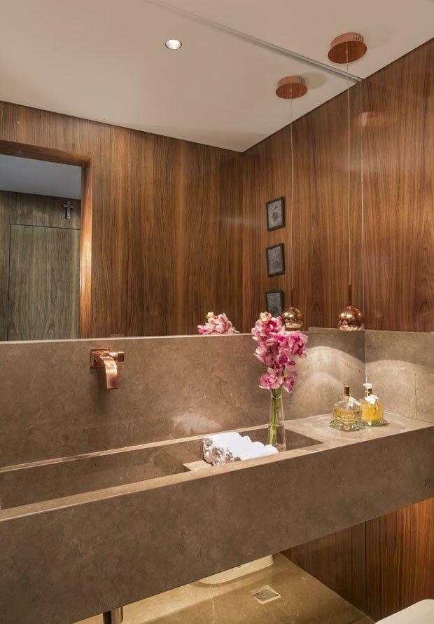 Apartamento contemporâneo com toques de vermelho (Foto: Evelyn Müller / divulgação)