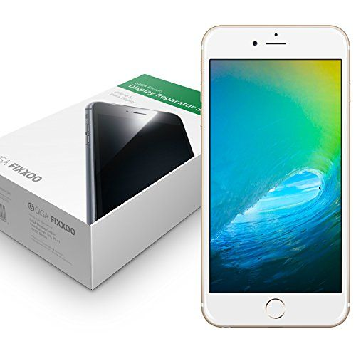 nice iPhone 6 Plus Screen Replacement (white) with Retina Display & Toolkit GIGA Fixxoo