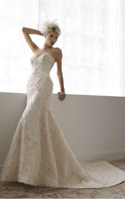 Sheath Sweetheart Natural Sleeveless Floor-length Wedding Dresses wbs0263
