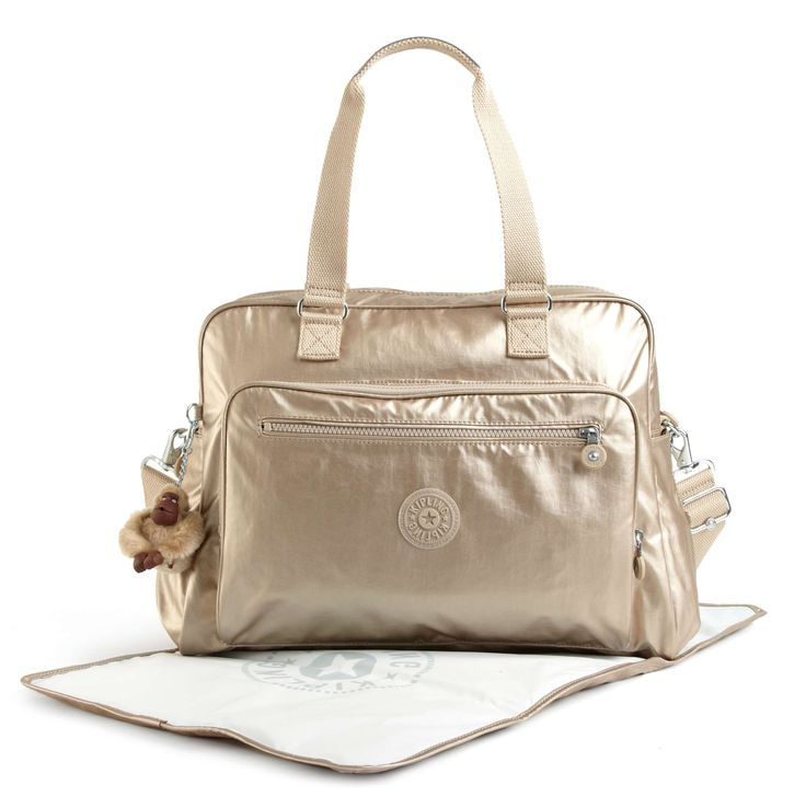 alanna metallic diaper bag baby bags. Black Bedroom Furniture Sets. Home Design Ideas