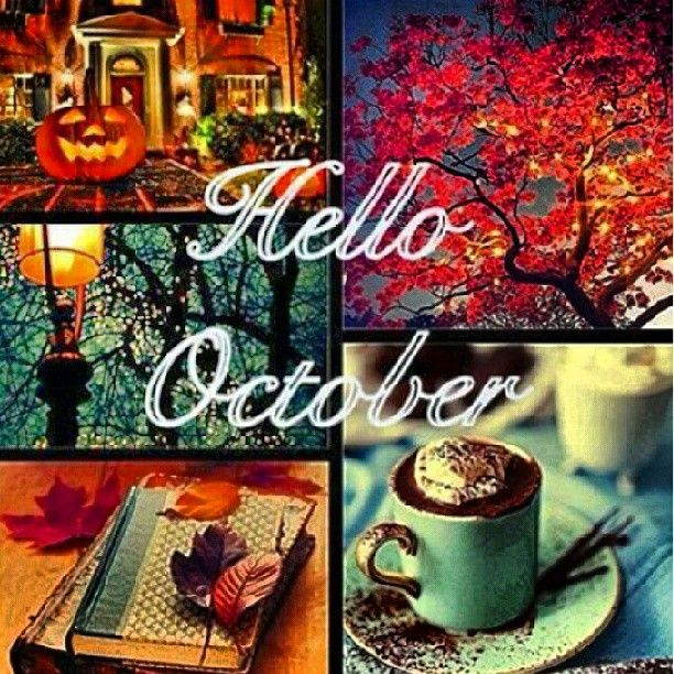 30 best October images on Pinterest  Hello october, Autumn fall and Autumn l...