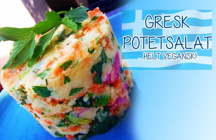 Denne potetsalaten er helt annerledes enn det vi forbinder med potetsalat her i Norge: den er lett, frisk, syrlig og helt uten bruk av rømme, fløte, majones eller andre meieriprodukter. Den er også enkel og billig å lage og er helt vegansk. Men den passer likevel kjempegodt til både kjøtt og fisk, om du ikke …