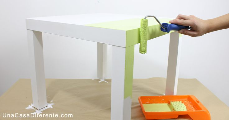 Los muebles de melamina también se pueden pintar y redecorar. ¡Aquí vemos cómo!