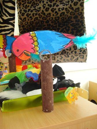 Knutselen: Papegaai