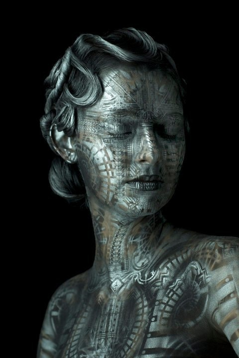 The World Bodypainting Festival 2010  Featured artist: Michael Rosner // USA  Meet the crew at The Makeup Show Europe