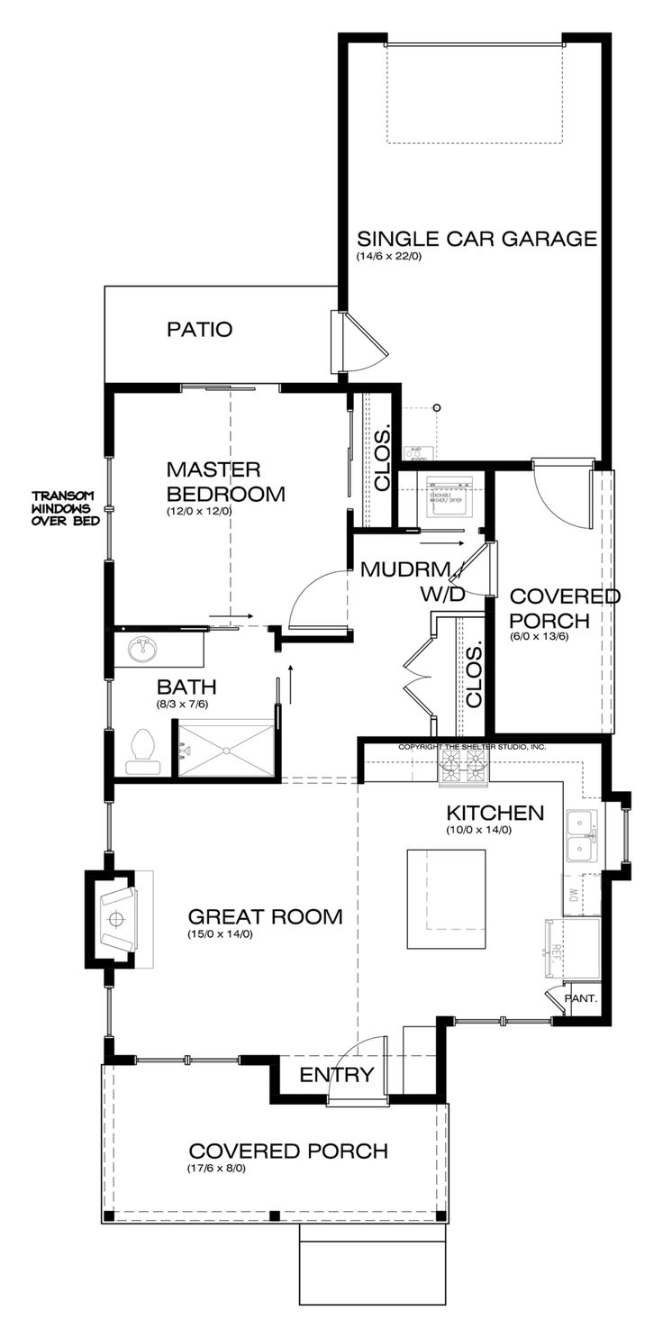 3802 best house plans houses images on pinterest small house craftsman style house plan 1 beds 1 00 baths 788 sq ft plan 895