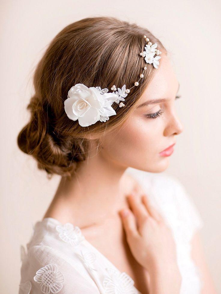 Florèntes - beautiful handmade floral headpieces for brides.